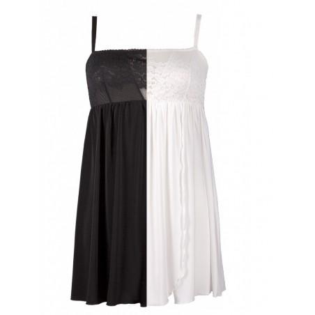 Komplet model 123 Lupoline -czarny czy biały :)