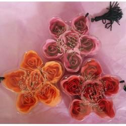 Konfetti mydlane - róże