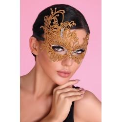 """Maska """" karnawałowa"""" golden"""