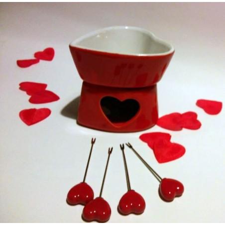 Romantyczny zestaw do fondue